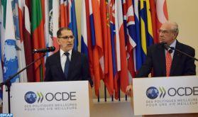 L'engagement du Maroc dans une dynamique d'accélération des réformes mis en exergue par M. Saad Dine El Otmani au siège de l'OCDE à Paris