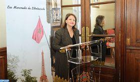 Présentation à Paris du premier roman de l'ambassadrice de la cuisine marocaine Fatema Hal