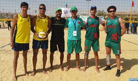 Beach-volley (U21): Les sélections nationales dames et messieurs qualifiées aux championnats du monde
