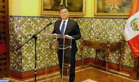 """Les relations excellentes entre le Pérou et le Maroc font des deux pays """"un trait d'union entre l'Amérique latine et l'Afrique"""""""