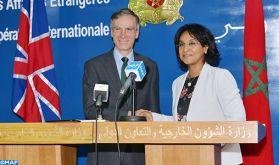 Tenue à Rabat de la 2-ème session du Dialogue stratégique Maroc-Grande Bretagne