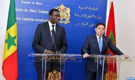 """Les relations maroco-sénégalaises se démarquent par une """"communauté de destin"""" qui cristallise la réussite d'un modèle de coopération sud-sud (M. Bourita)"""