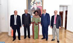 Les derniers développements de la question du Sahara marocain au centre d'un entretien entre Khalihenna Ould Errachid et la Présidente du parlement ougandais