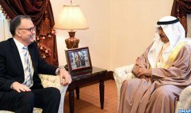 Le premier ministre bahreïni salue la solidité des relations liant son pays au Maroc