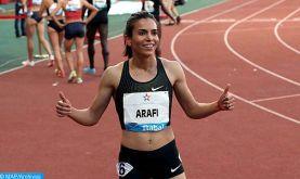 Ligue de diamant - Shanghai: La Marocaine Rabab Arafi remporte le 1500m, signe la meilleure performance de l'année