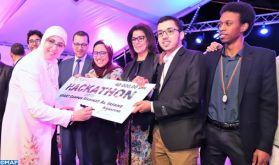 """Rabat: quatre projets innovants primés au concours du Hackathon """"Smart Campus"""" Madinat Al Irfane"""
