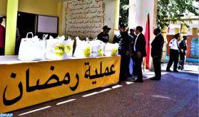 """Préfecture de Salé: Près de 3.950 familles bénéficiaires de l'opération de soutien alimentaire """"Ramadan 1440"""""""