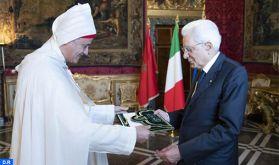 L'ambassadeur du Maroc en Italie remet ses lettres de créances au Président Sergio Matarella