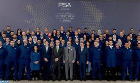 La capacité de production de l'usine PSA de Kénitra passera de 100.000 véhicules par an au démarrage à 200.000 l'année prochaine