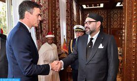 """L'Espagne et le Maroc, un """"excellent exemple"""" d'une relation forte et fructueuse entre deux pays amis"""
