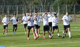 Les lions de l'Atlas se préparent pour leurs prochains matchs contre le Malawi et l'Argentine