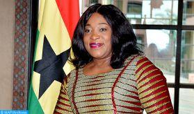 La ministre ghanéenne des affaires étrangères pour l'approfondissement des relations économiques avec le Maroc