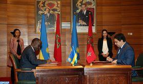 Grande commission mixte Maroc-Rwanda : Signature de plusieurs accords de coopération