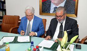 Signature d'une convention entre la MAP et l'Académie du Royaume du Maroc visant à mettre en valeur les projets et les réalisations de l'Académie