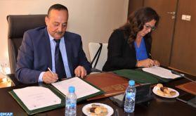 Signature à Rabat d'une convention de partenariat pour la promotion du rayonnement culturel du Royaume