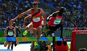 Ligue de diamant/Paris: Le Marocain Soufiane El Bakkali remporte le 3000m steeple