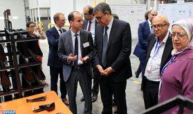 Le groupe français Galvanoplast inaugure à Tanger son 1er site industriel à l'étranger, Electroplast