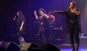 """Mawazine 2019: Le groupe américain """"Sister Sledge"""" offre un spectacle musical imprégné de souvenirs et de sonorités des années 70"""