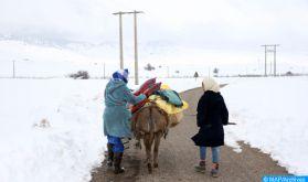 Chichaoua: Panoplie de mesures pour atténuer les effets du froid