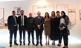 """Vernissage à Rabat de l'exposition """"Sidi Harazem, une oasis moderne"""" dédiée à ce joyau architectural marocain"""