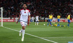 Ligue des champions (1/2 finale): Le WAC remporte la phase aller face au Mamelodi Sundowns (2-1)