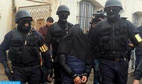 """Démantèlement d'une cellule terroriste composée de 8 extrémistes s'activant à Tanger dont le frère de deux combattants dans les rangs de """"Daech""""sur la scène syro-irakienne"""