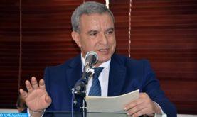 Le Président guinéen reçoit en audience le ministre de la justice Mohamed Aujjar