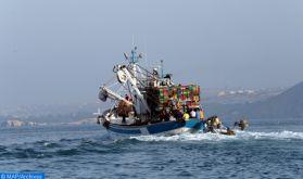Décès d'un pêcheur marocain suite à l'incendie d'un chalutier espagnol