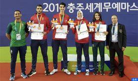 World Martial Arts Masterships/Taekwondo: Une médaille de bronze pour le Maroc dans la catégorie mixte