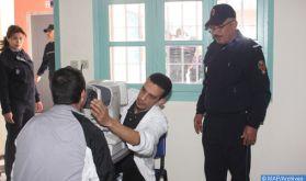 Plus de 900 bénéficiaires d'une campagne médicale pluridisciplinaire à la prison locale de Khénifra