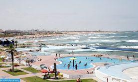 La grande piscine de Rabat: un nouvel espace de détente pour les habitants de la capitale et ses visiteurs