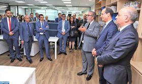 Inauguration du nouveau siège de la MAP à Casablanca