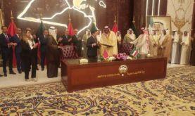 Le Koweït salue hautement le rôle politique et agissant de SM le Roi dans la défense d'Al Qods Al-Sharif