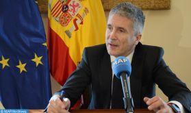 """Le Maroc, """"partenaire privilégié"""" de l'Espagne dans la lutte contre l'immigration clandestine"""