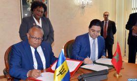 Le Maroc et la Barbade veulent coordonner leurs actions pour la promotion de la coopération entre l'Afrique et les pays des Caraïbes (communiqué conjoint)