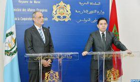 Maroc-Guatemala, relations fondées sur l'amitié et la solidarité