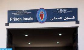 Transfèrement des détenus dans le cadre des événements d'Al Hoceima à des établissements pénitentiaires du Nord du Royaume