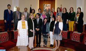 Rabat: Des femmes parlementaires allemandes et marocaines se réunissent dans le cadre d'un programme d'échange et de coopération
