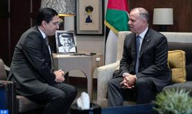 SAR le Prince Fayçal ben Al-Hussein reçoit le ministre des Affaires étrangères et de la Coopération internationale