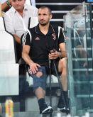 Chiellini absent six mois à cause d'une blessure au genou