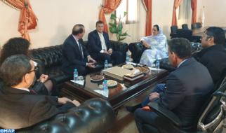 فرص الاستثمار بكلميم واد نون محور لقاء بين السيدة بوعيدة ونائب رئيس الغرفة الفرنسية للتجارة والصناعة بالمغرب