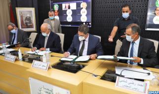 اتفاق بين وزارة التربية الوطنية والمجلس الاقتصادي والاجتماعي والبيئي من أجل إنجاز الدراسات في المجالات ذات الاهتمام المشترك.