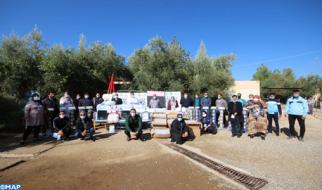 إقليم خنيفرة .. إستفادة أزيد من 8000 تلميذة وتلميذ من حملات للوقاية من (كوفيد-19)