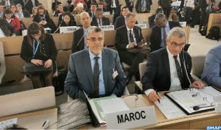 السيد الرميد يستعرض في جنيف الانجازات التي حققها المغرب في مجال حقوق الانسان