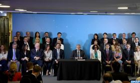 الأرجنتين..الرئيس المنتخب ألبيرتو فرنانديز يعلن عن تشكيلة حكومته