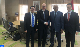 المندوب العام لإدارة السجون يتباحث مع نائب الأمين العام لمكتب الأمم المتحدة لمكافحة الإرهاب