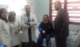 إدخال الفنان المسرحي عبد القادر اعبابو للمستشفى إثر وعكة صحية