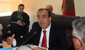 السيد عبيابة يؤكد على ضرورة تضافر الجهود من أجل إنجاح الدورة 26 للمعرض الدولي للنشر والكتاب