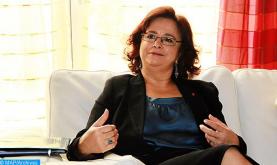 رئيسة الهيئة العليا للاتصال السمعي البصري تتباحث بالرباط مع سفيرة أستراليا بالمغرب