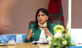 السيدة بوعياش تدعو إلى الإسراع في وضع استراتيجية وطنية لمكافحة الاتجار في البشر